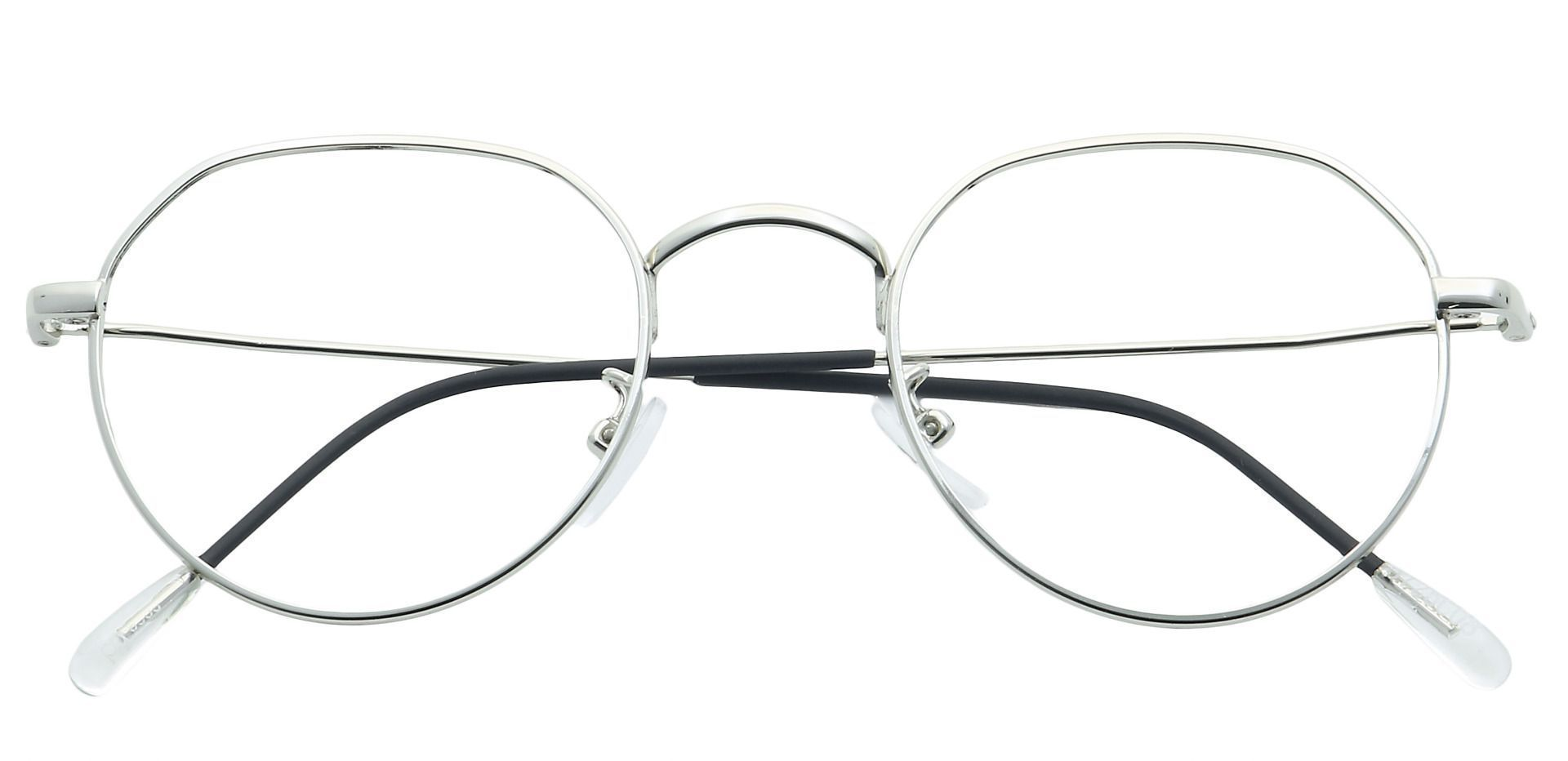 Emerson Round Reading Glasses - Clear