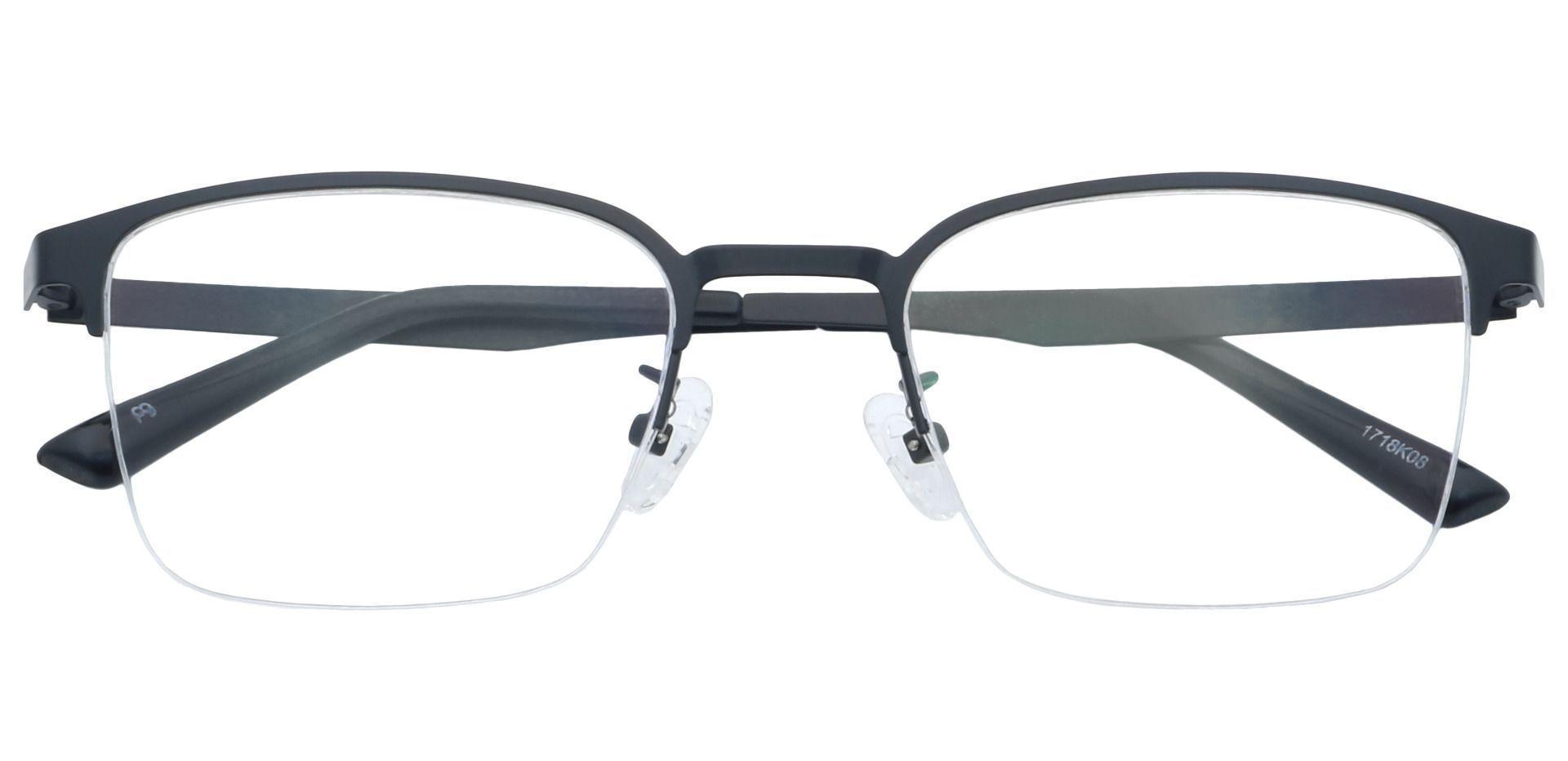 Eden Square Prescription Glasses - Black