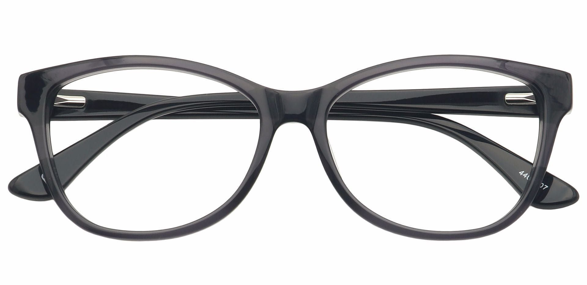 Ruth Oval Prescription Glasses - Black
