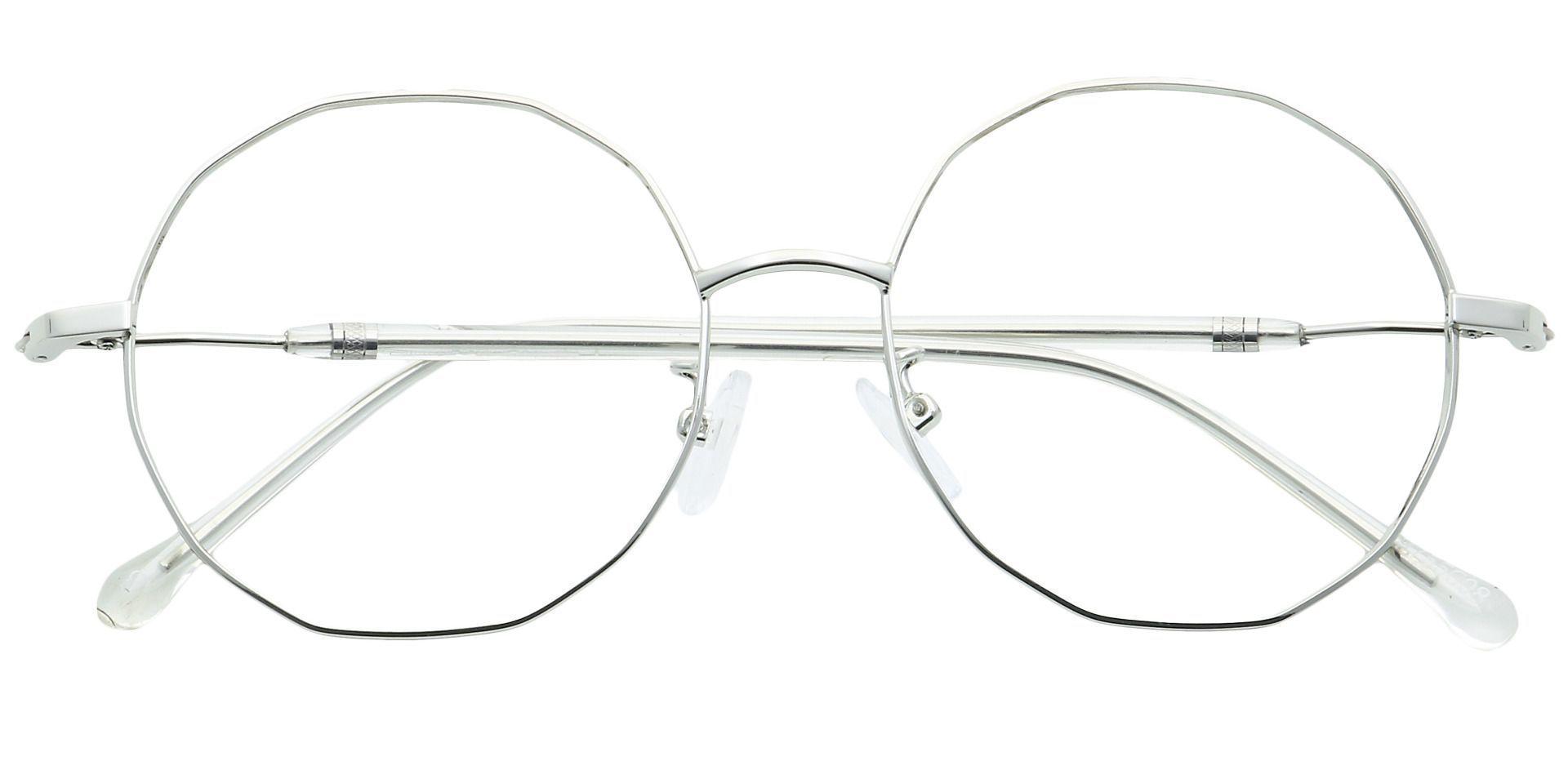 Niles Round Non-Rx Glasses - Clear