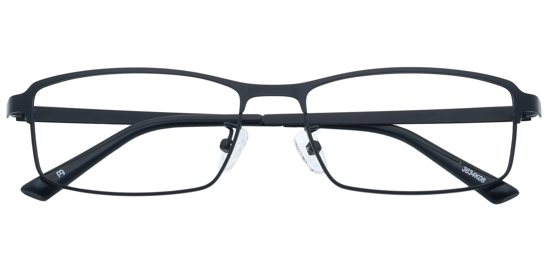 Scout Rectangle Prescription Glasses - Black