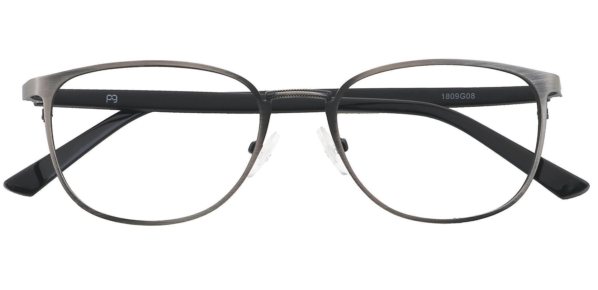 Sailor Square Blue Light Blocking Glasses - Gray