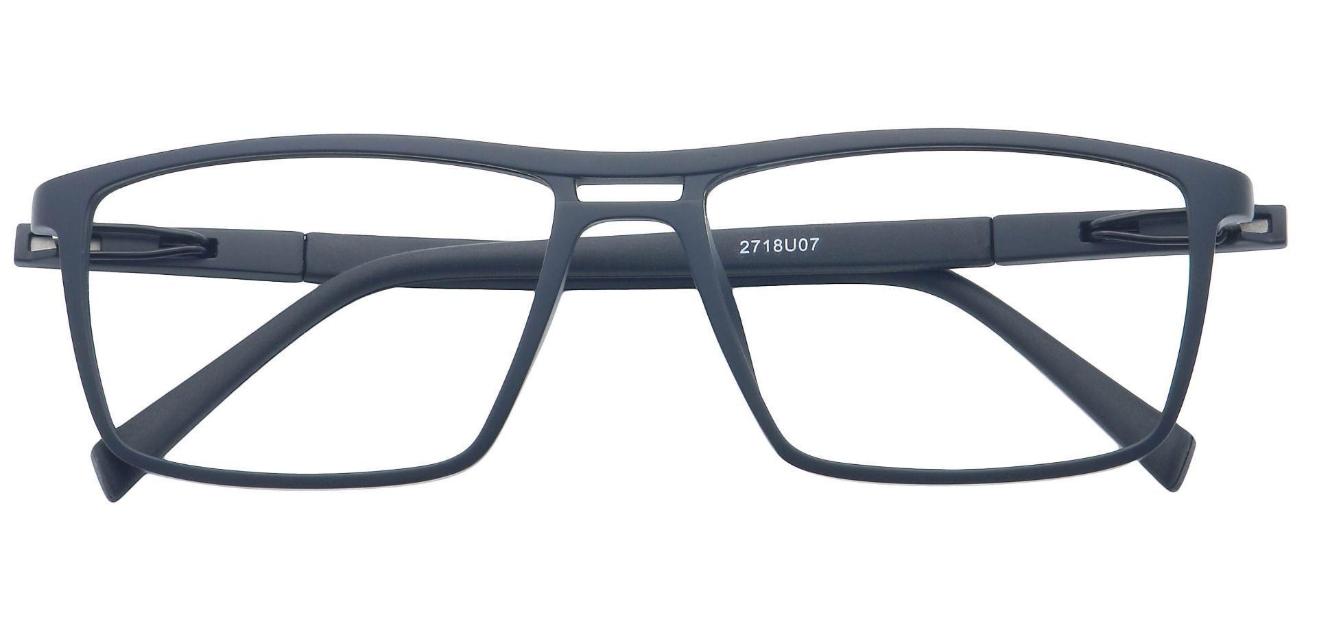 Covone Rectangle Prescription Glasses - Black