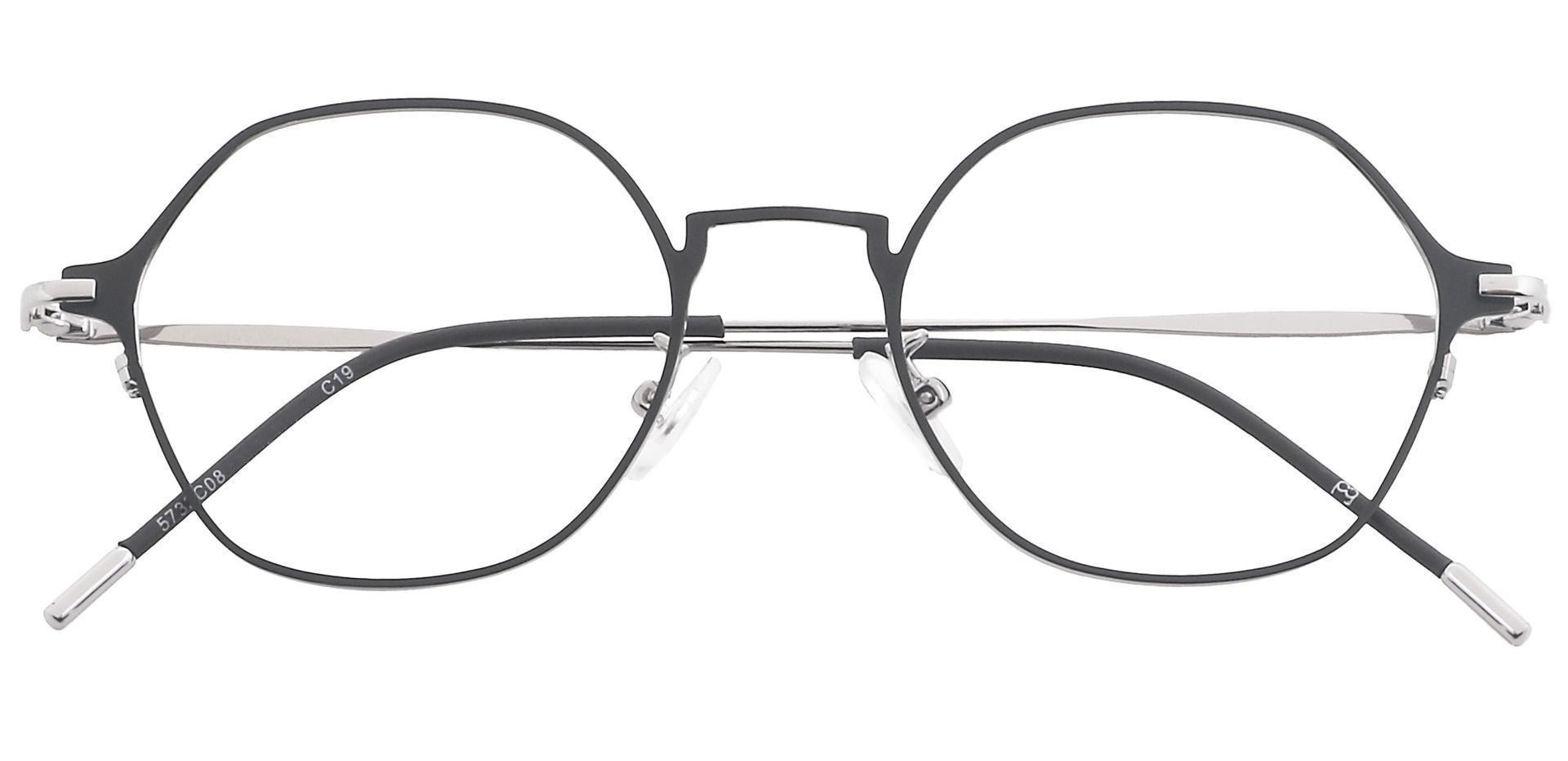 Nola Oval Blue Light Blocking Glasses - Clear