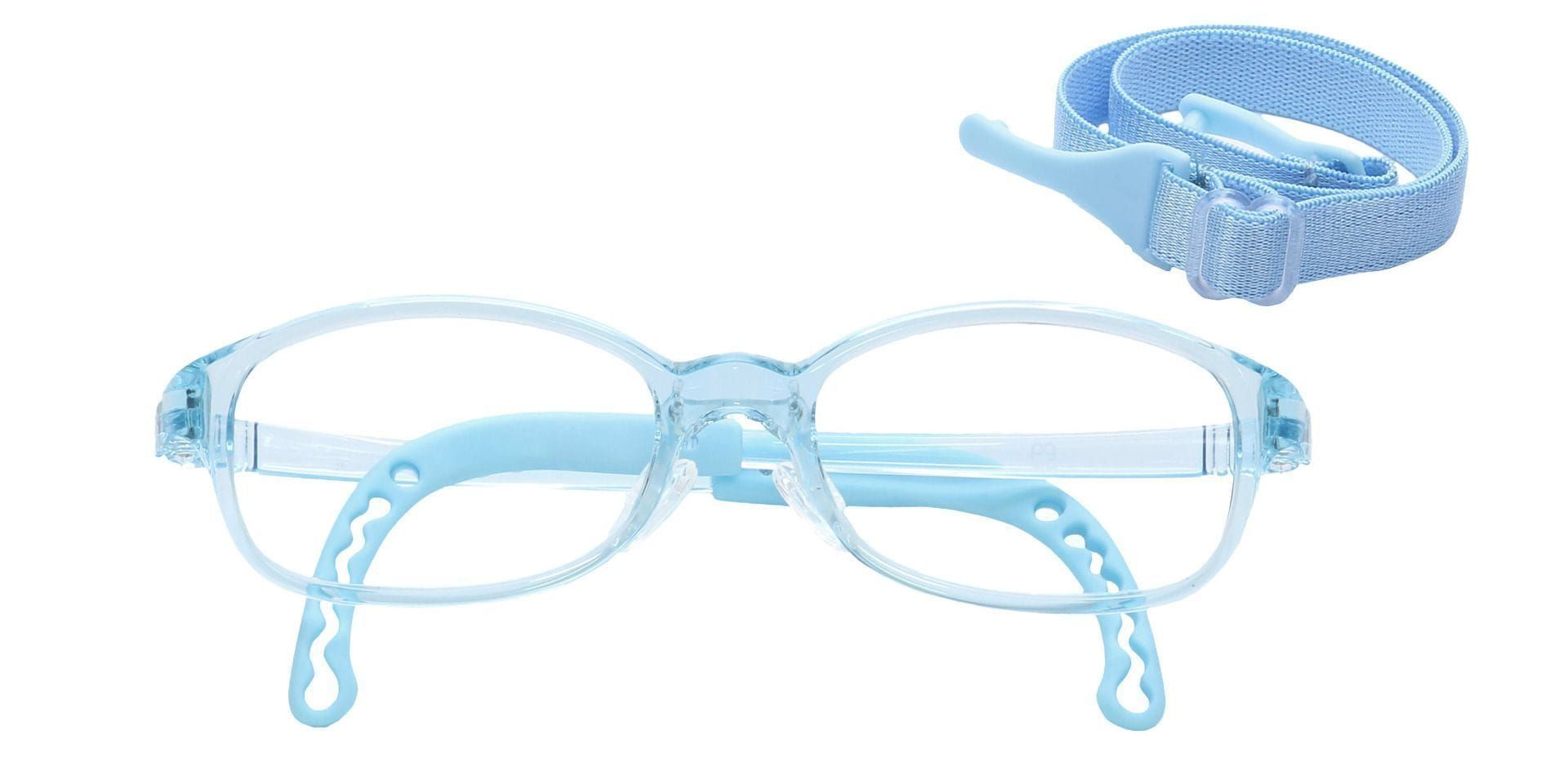 Dainty Rectangle Progressive Glasses - Clear