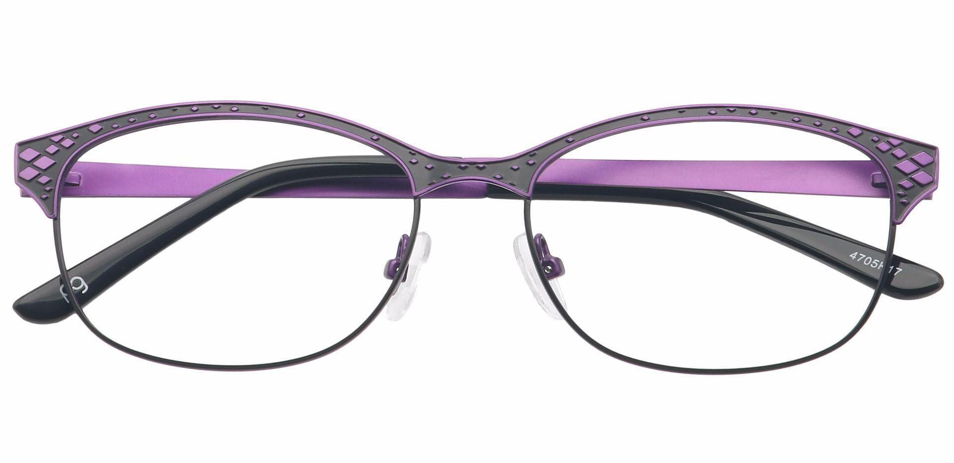 Aria Oval Prescription Glasses - Purple