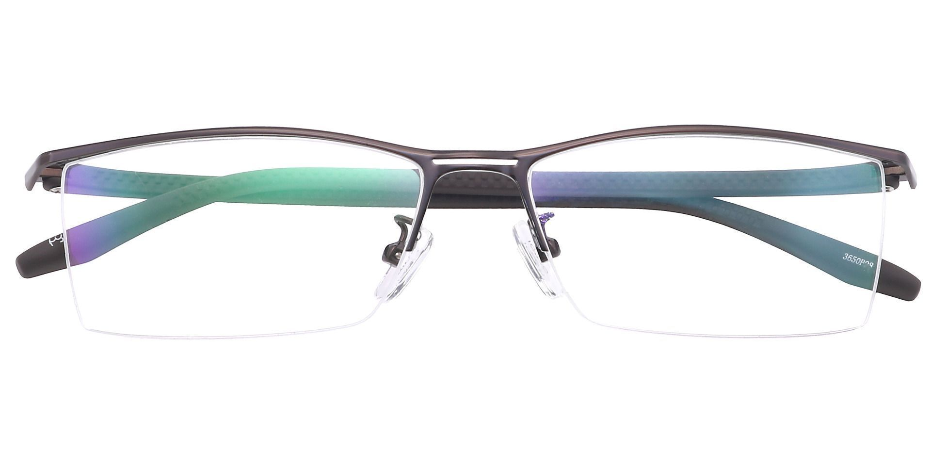 Taylor Rectangle Non-Rx Glasses - Brown
