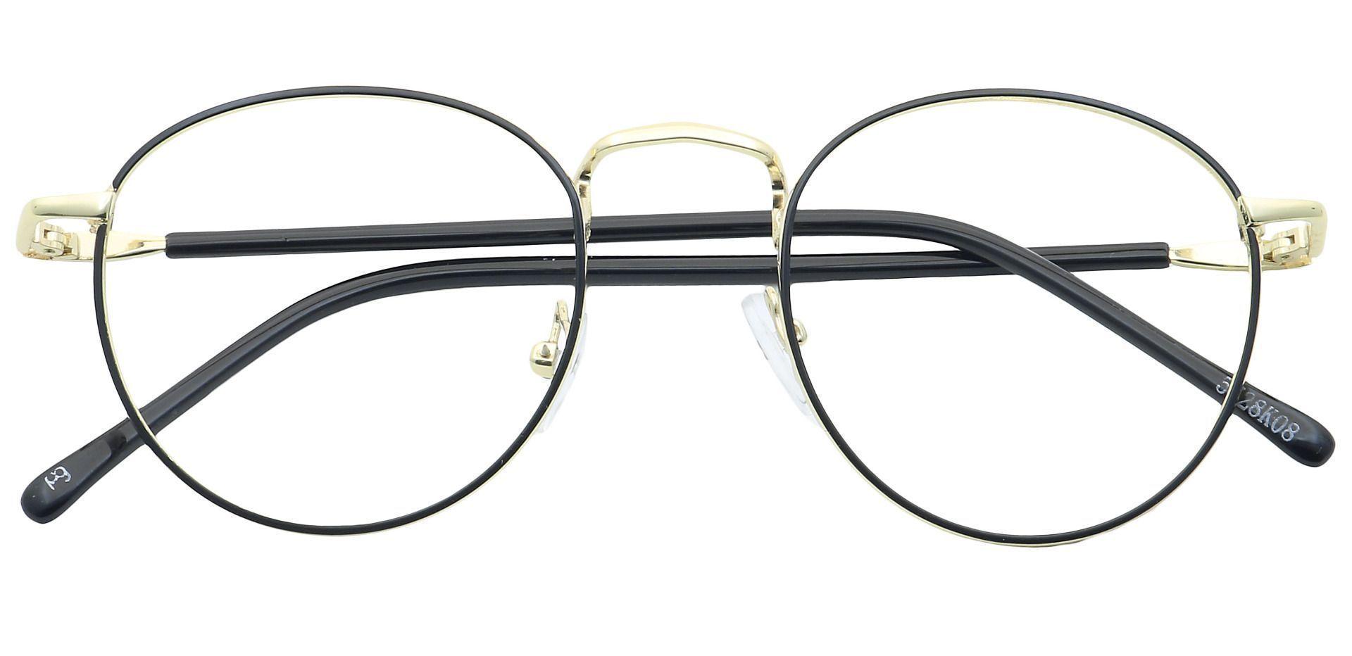 Rani Round Prescription Glasses - Black