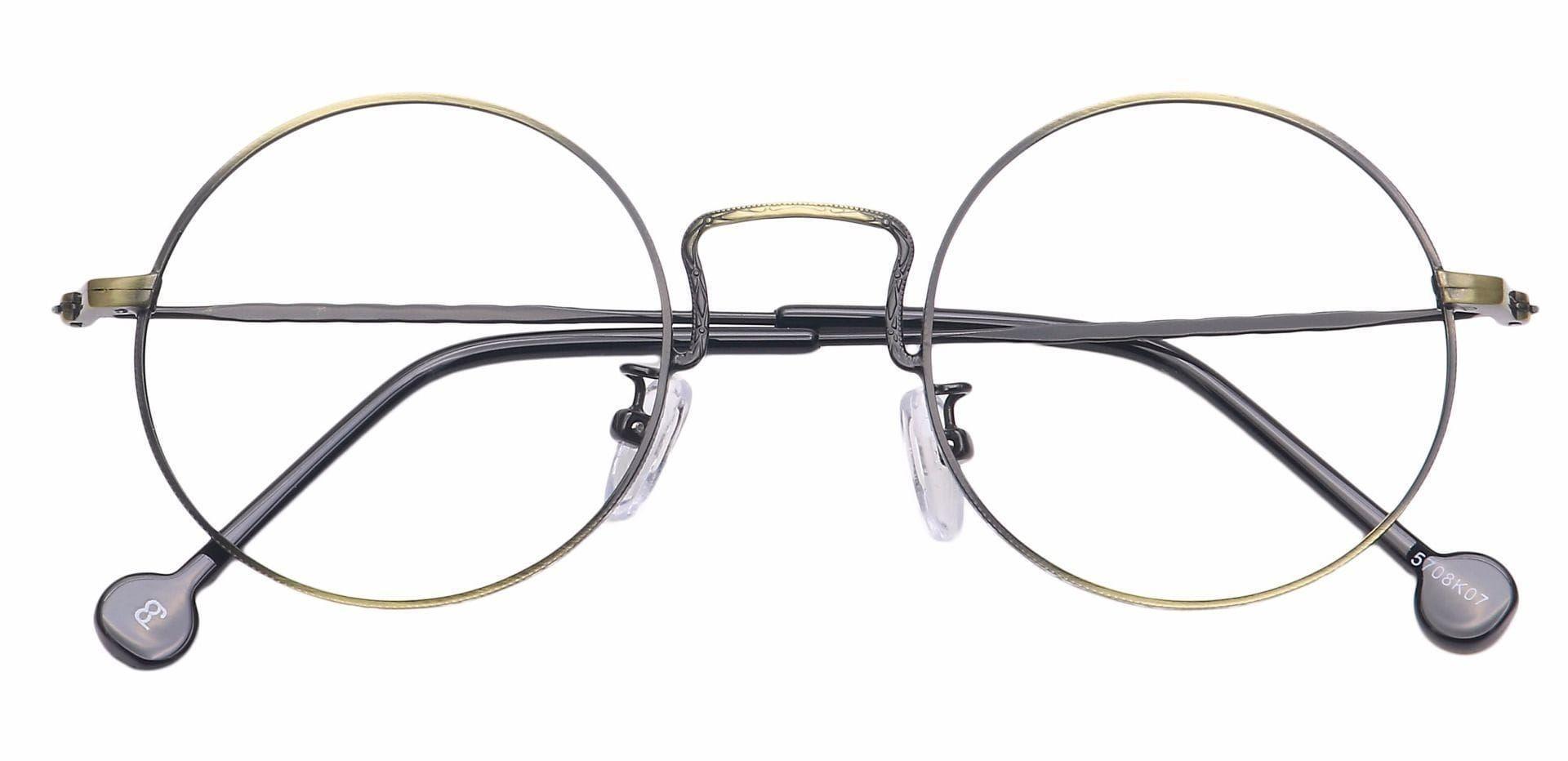 Razz Circular Reading Glasses - Black