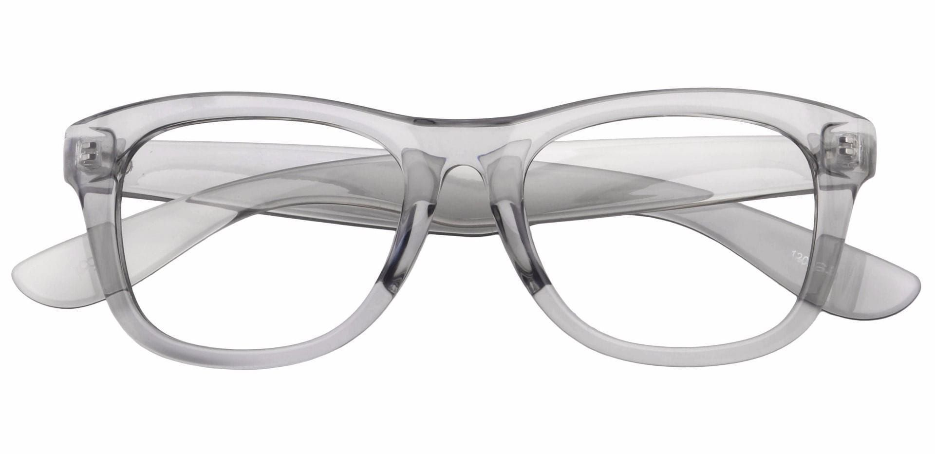 Tyre Square Prescription Glasses - Gray