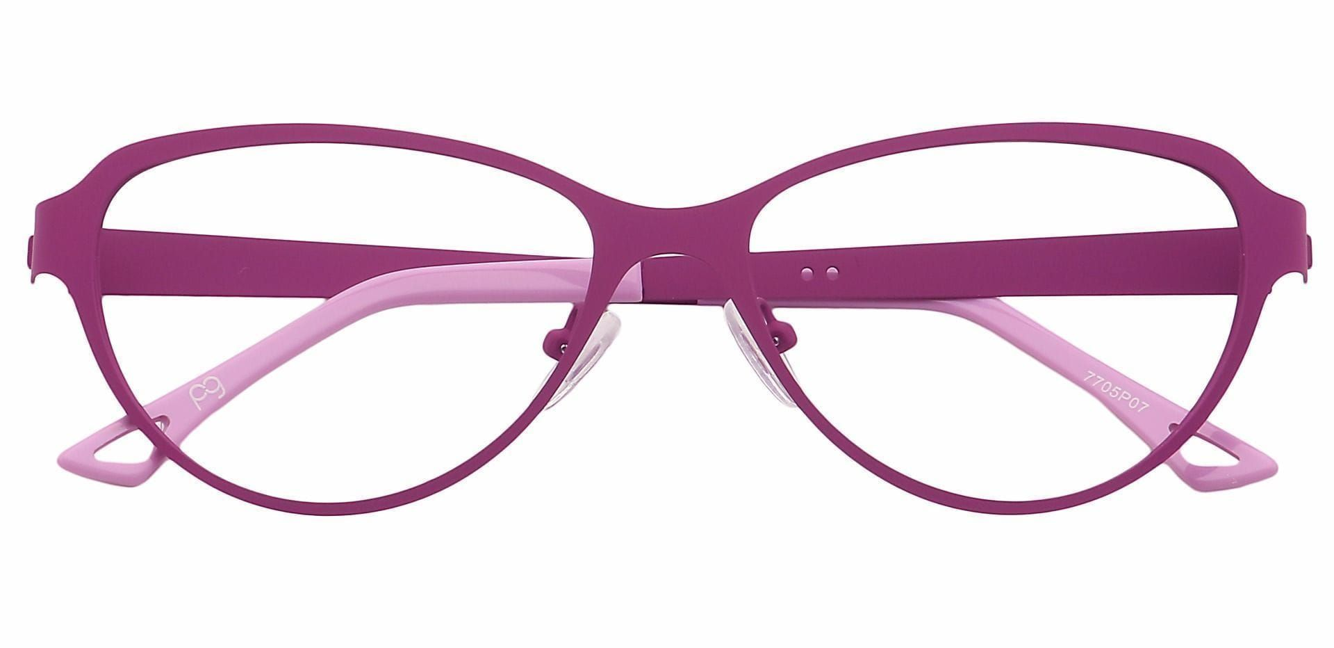 Sierra Cat-Eye Prescription Glasses - Purple