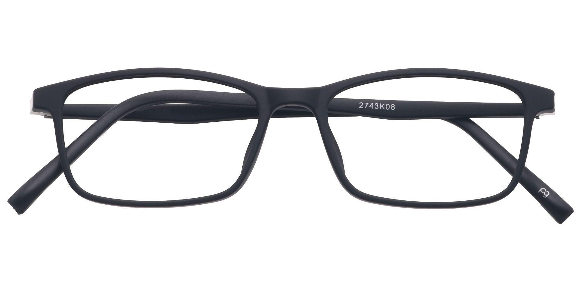 Ola Oval Prescription Glasses - Black