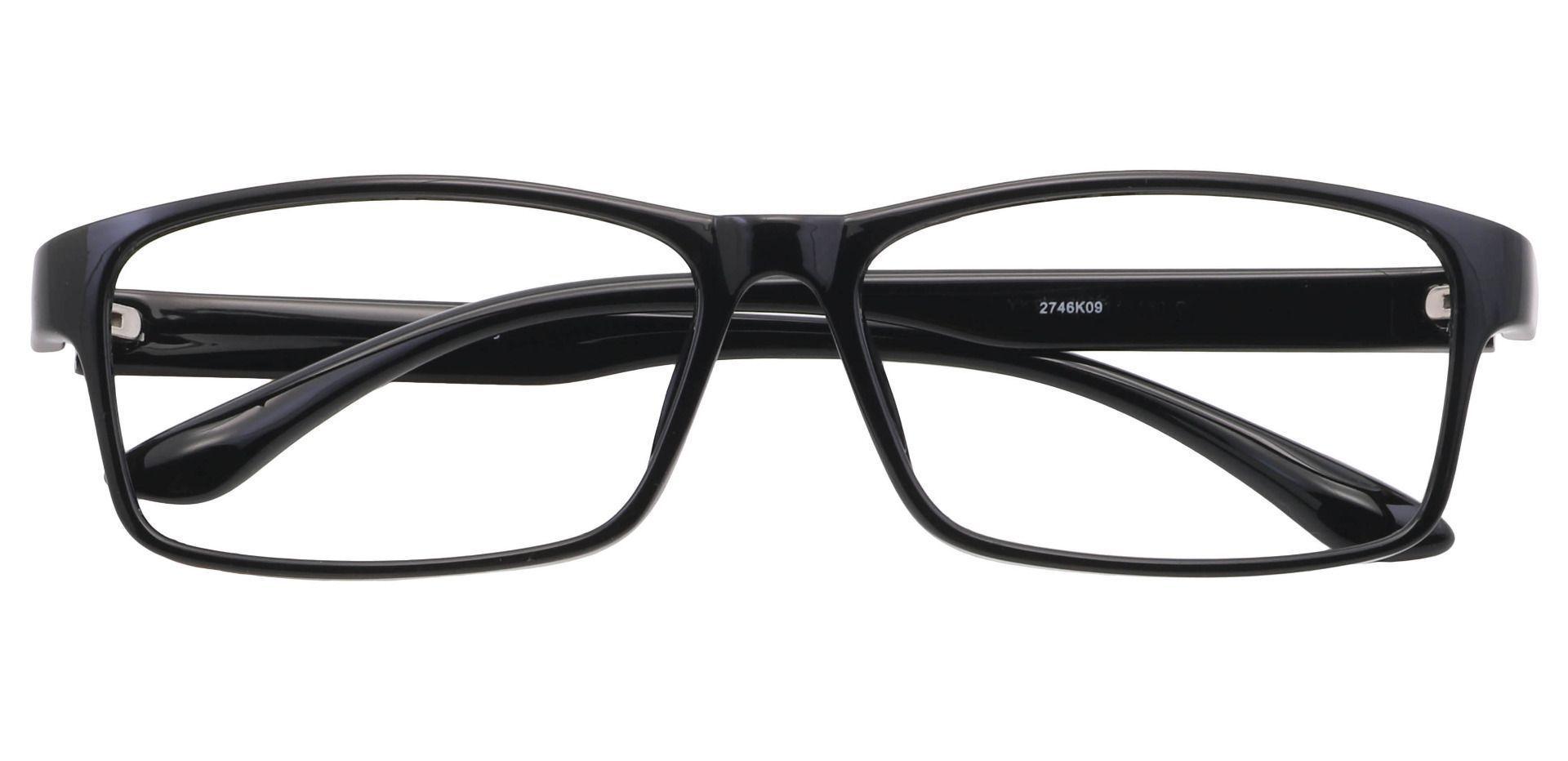 Dean Rectangle Prescription Glasses - Black