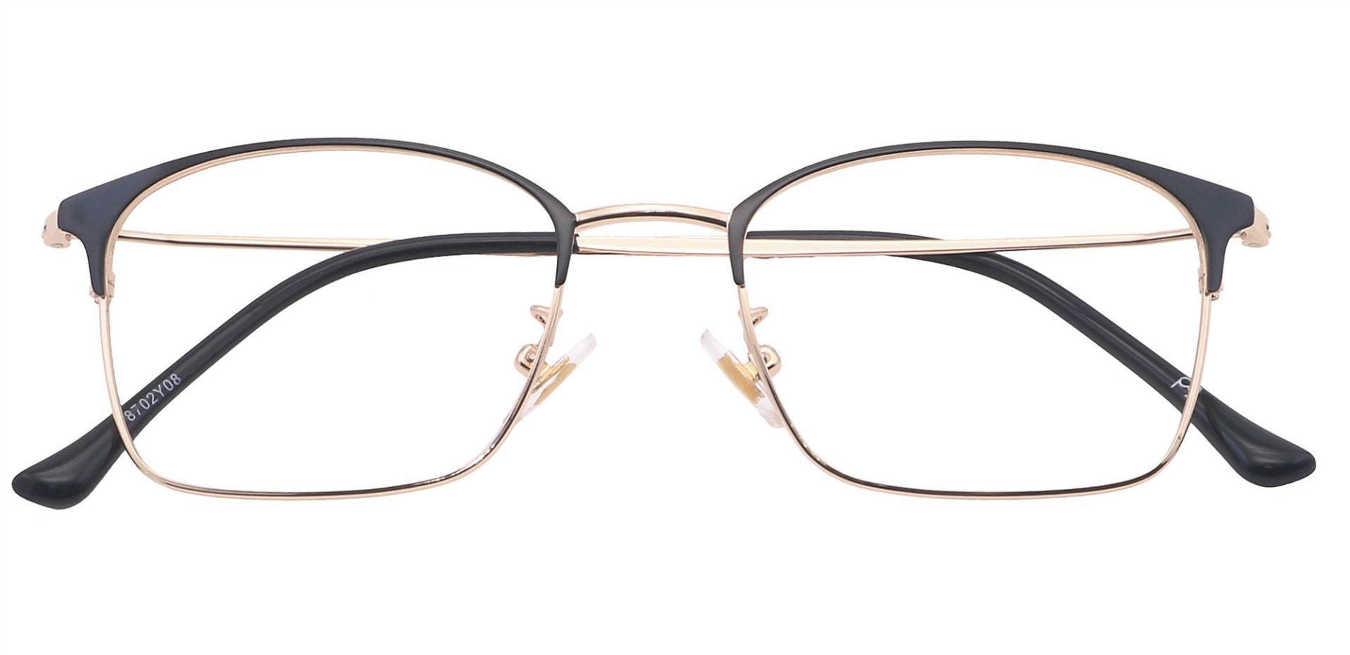 Joplin Rectangle Prescription Glasses - Yellow