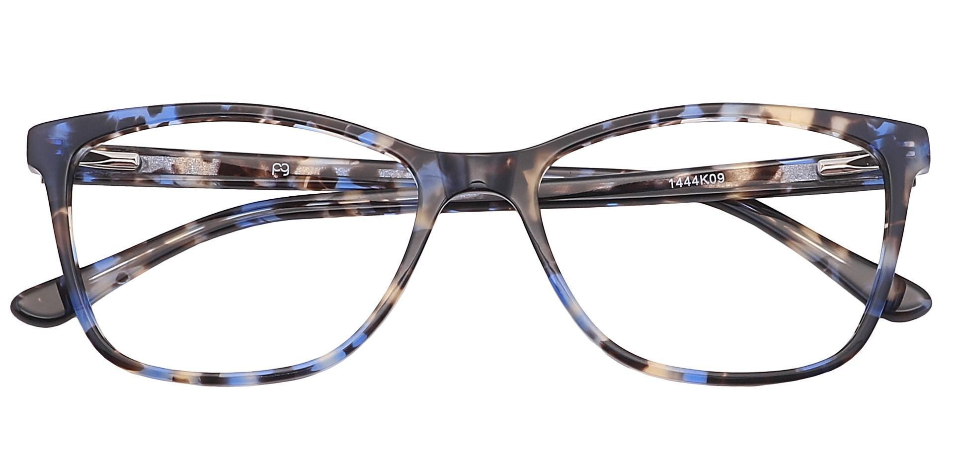 Antonia Square Prescription Glasses - Black