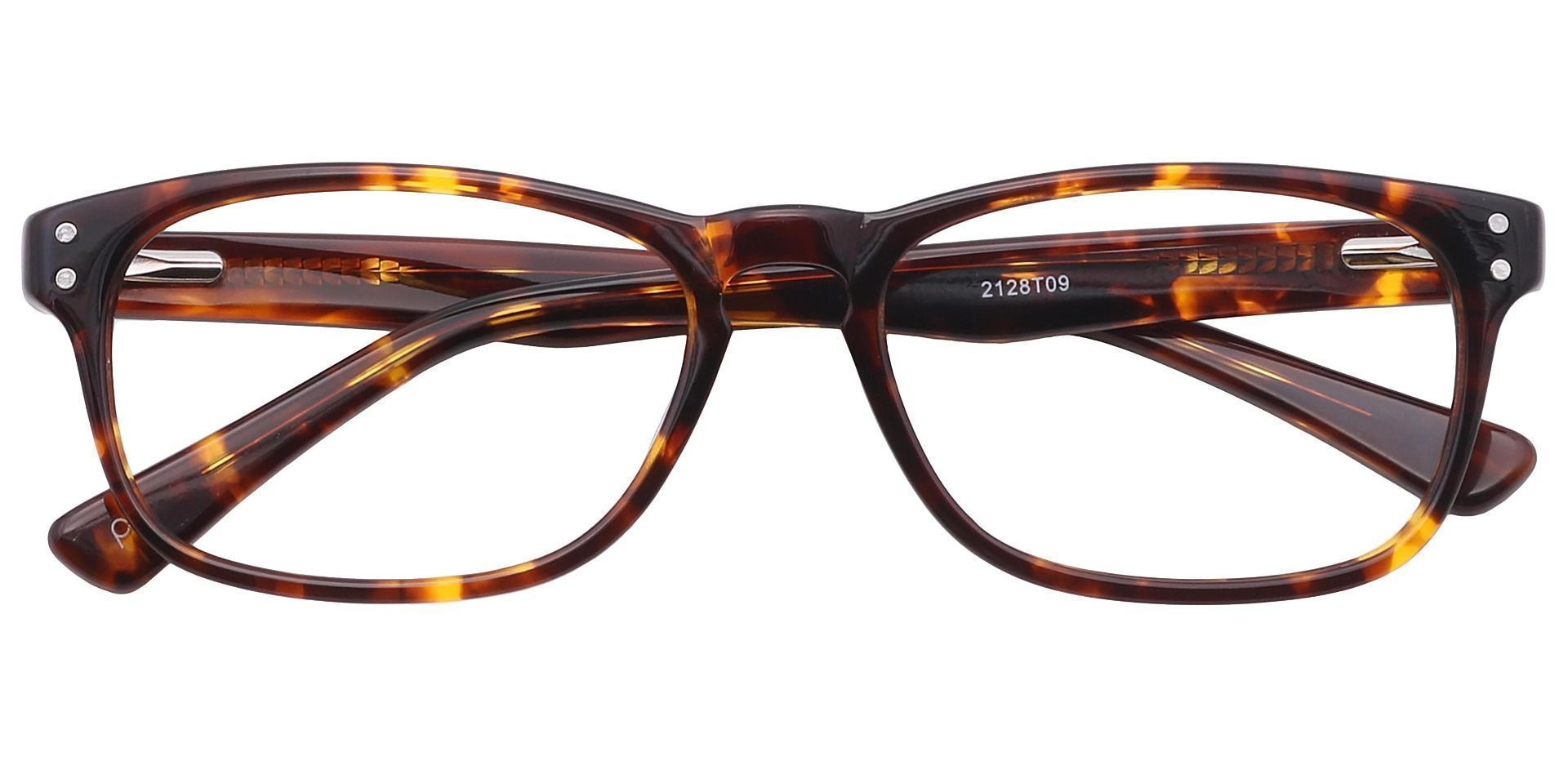 Morris Rectangle Progressive Glasses - Tortoise