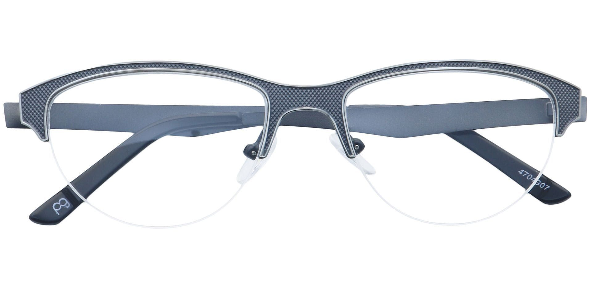 Joan Cat-Eye Progressive Glasses - Gray