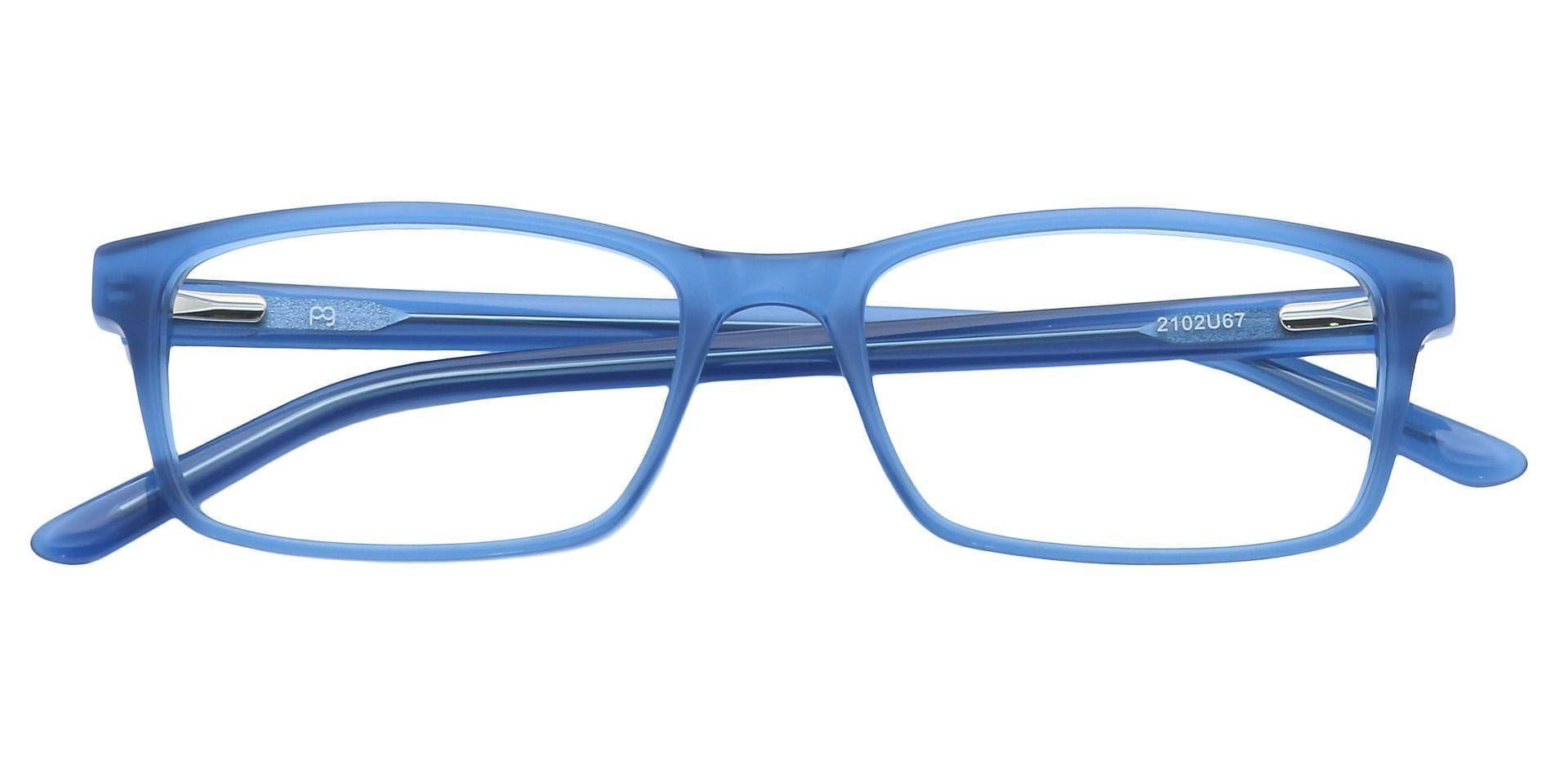 Suave Rectangle Non-Rx Glasses - Blue
