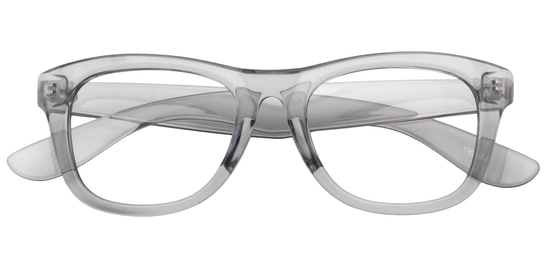 Callie Square Lined Bifocal Glasses - Gray