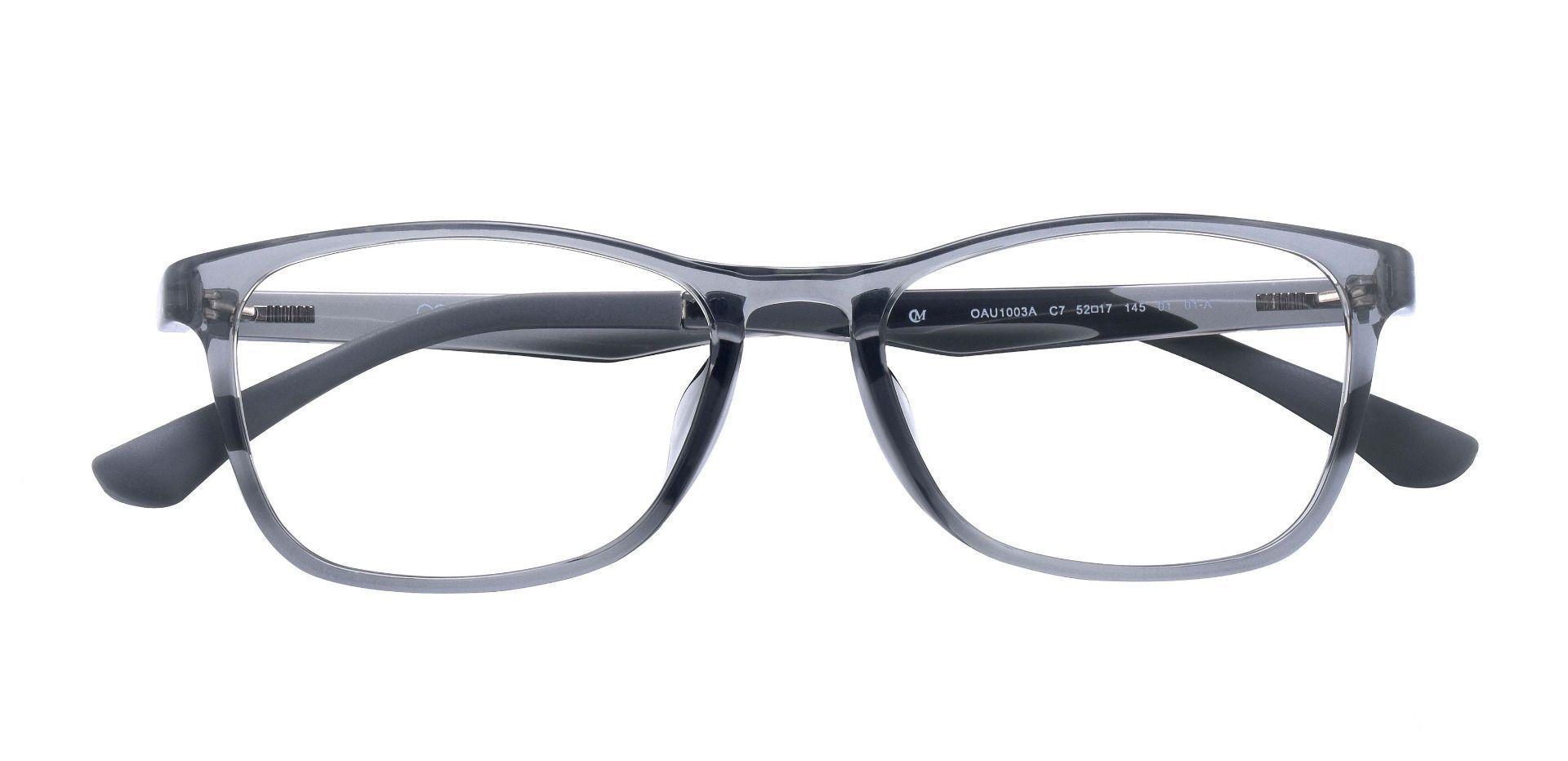 Merritt Rectangle Prescription Glasses - Gray