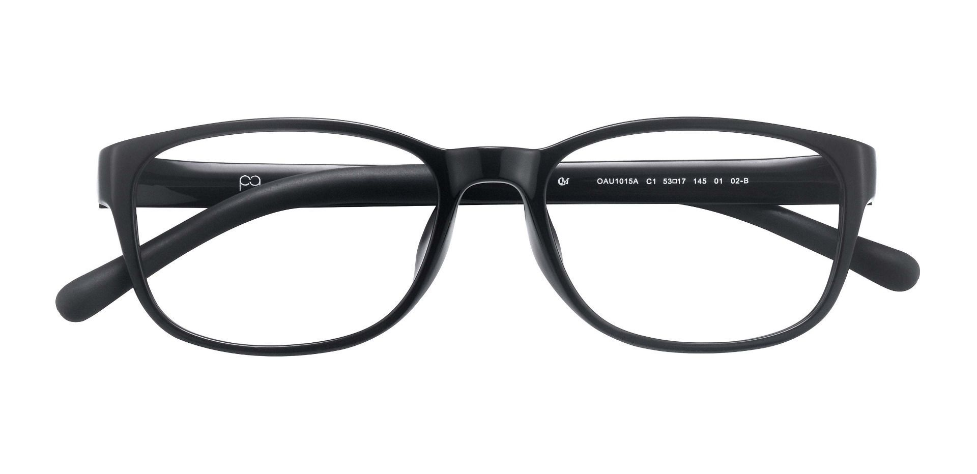 Dorado Oval Prescription Glasses - Black