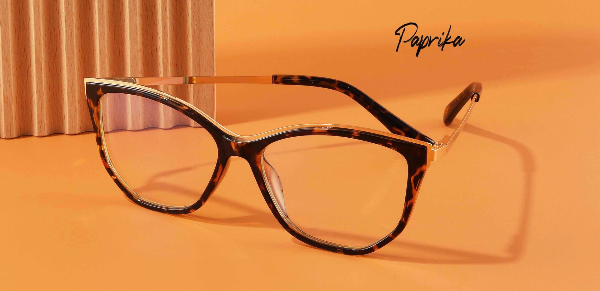 Paprika Cat Eye Prescription Glasses - Tortoise