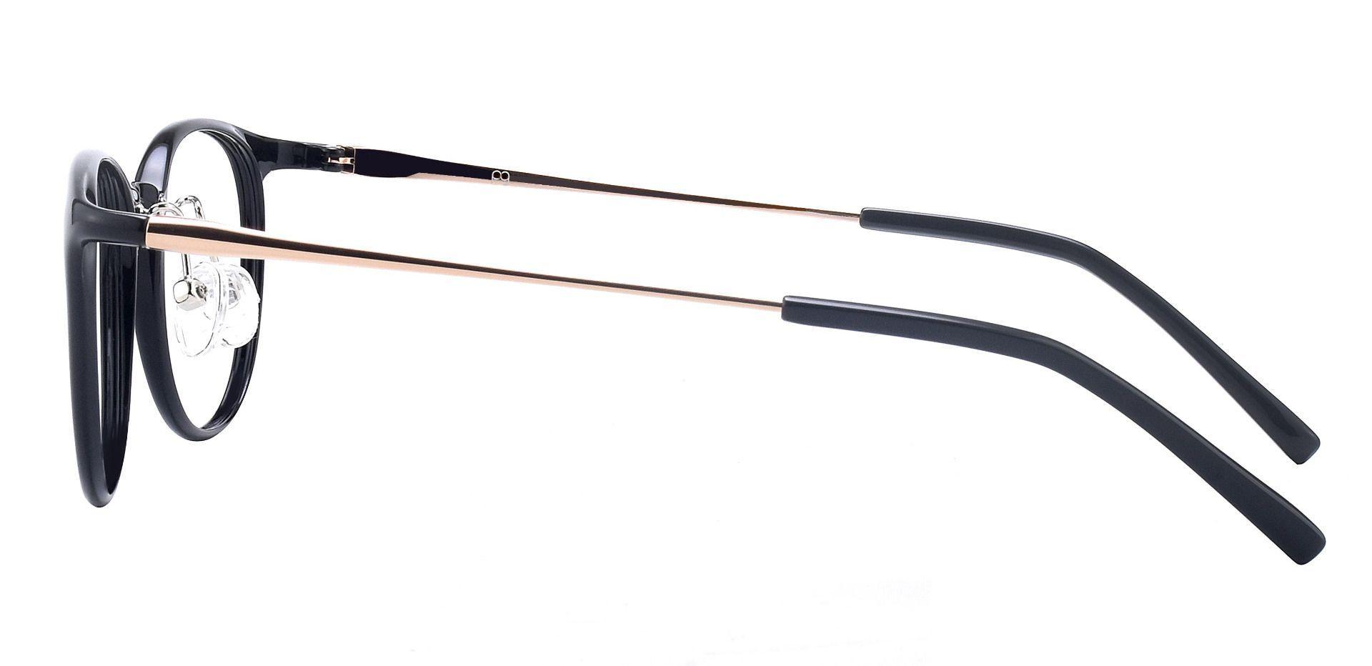 Stanton Oval Prescription Glasses - Black