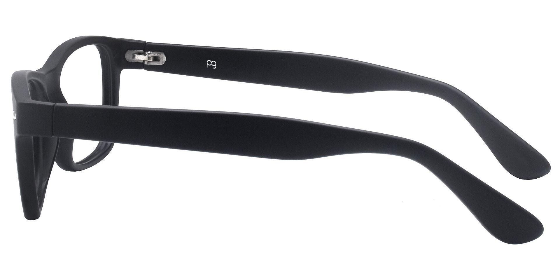 Kent Rectangle Prescription Glasses - Black