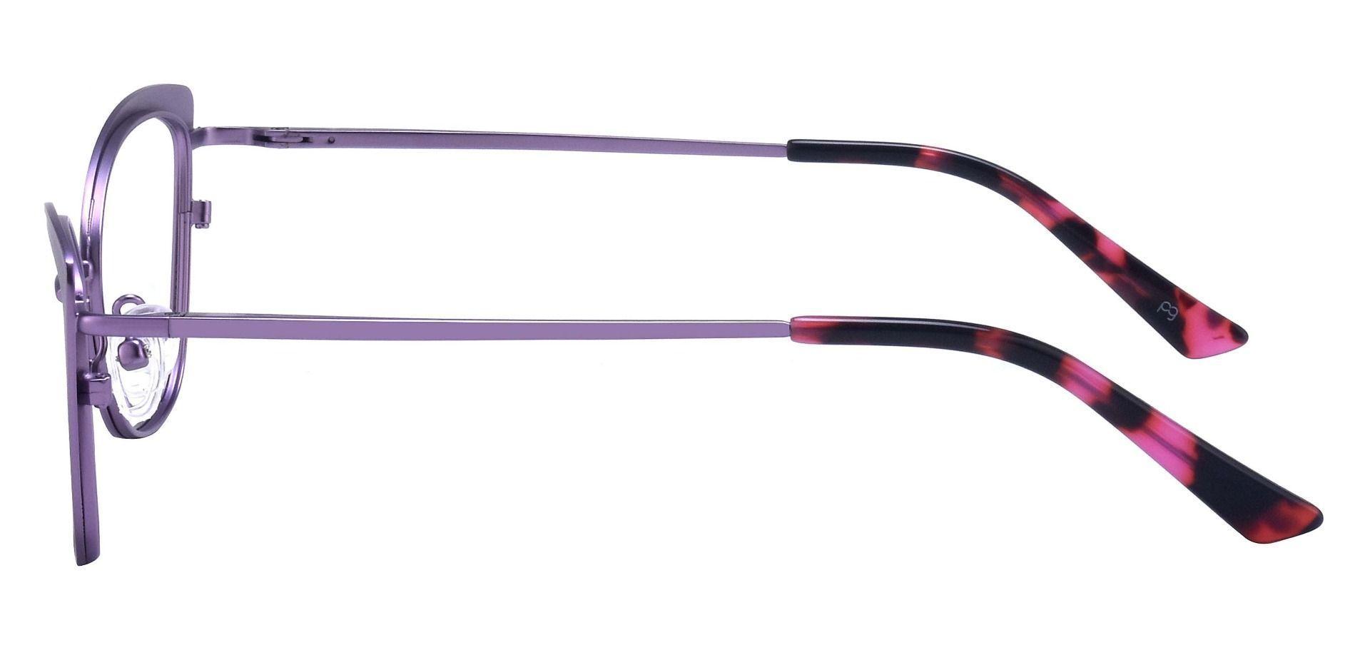 Verbena Cat Eye Prescription Glasses - Purple