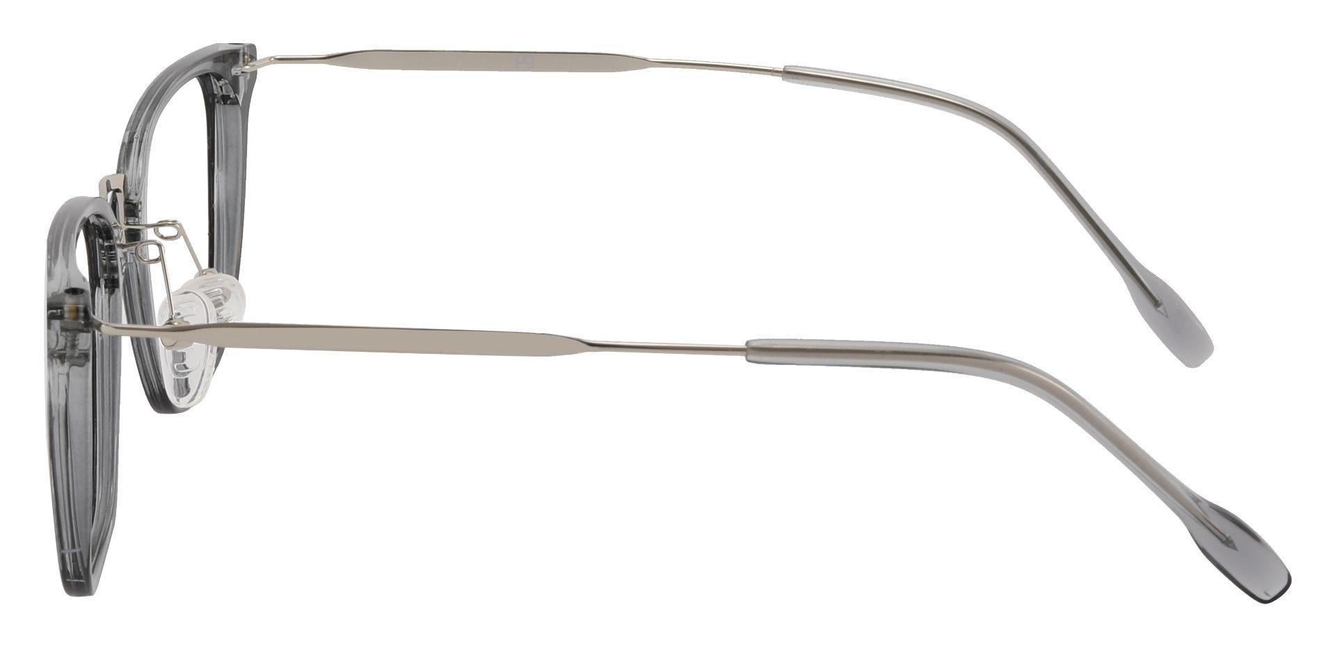 Cardwell Rectangle Prescription Glasses - Gray